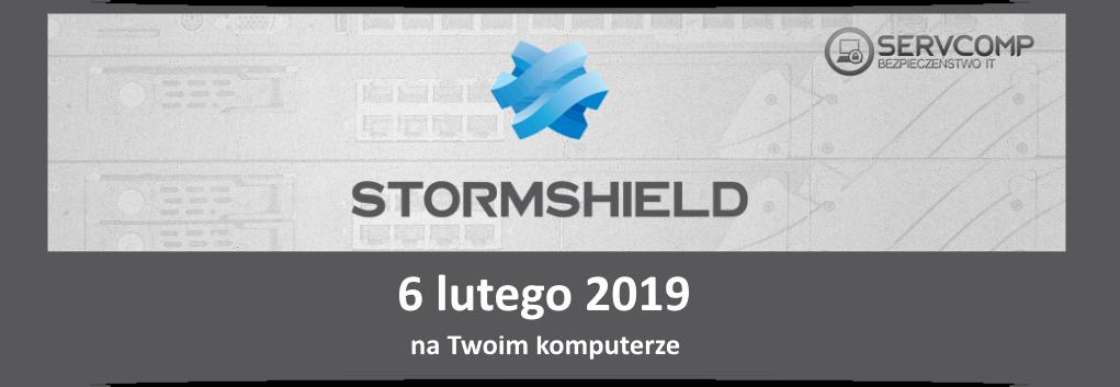 eKonferencja Stormshield UTM - 6 lutego 2019