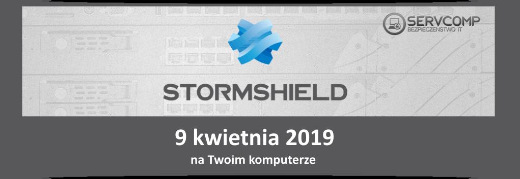 eKonferencja Stormshield UTM - 9 kwietnia 2019
