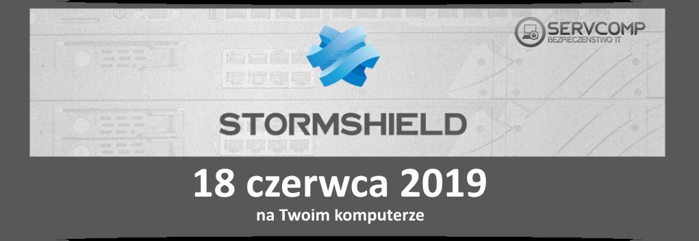 eKonferencja Stormshield UTM - 18 czerwca 2019