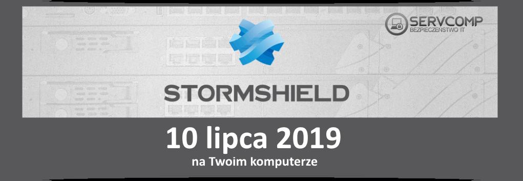 eKonferencja Stormshield UTM - 10 lipca 2019