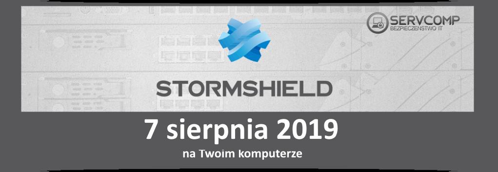 eKonferencja Stormshield UTM - 7 sierpnia 2019