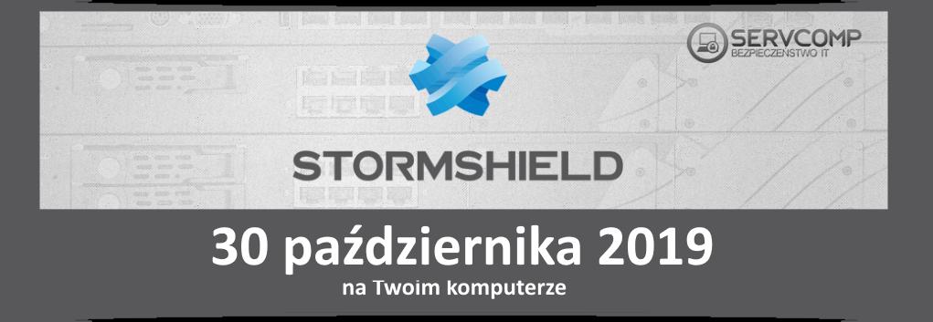 eKonferencja Stormshield UTM - 30 października 2019