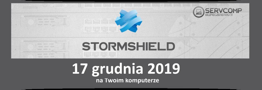 eKonferencja Stormshield 17 grudnia 2019