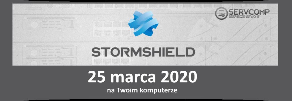 eKonferencja Stormshield 25 marca 2020