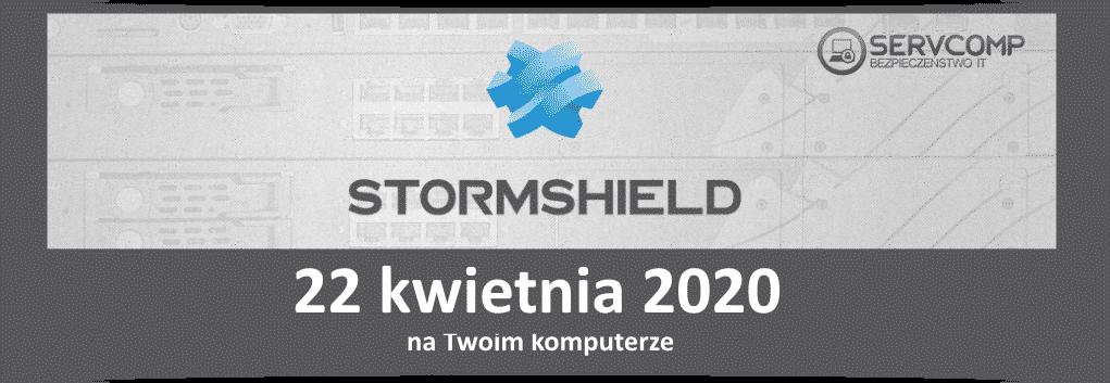 eKonferencja Stormshield 22 kwietnia 2020