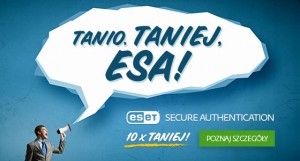 promocja ESET Secure Authentication