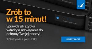 barracuda email security w 15 minut